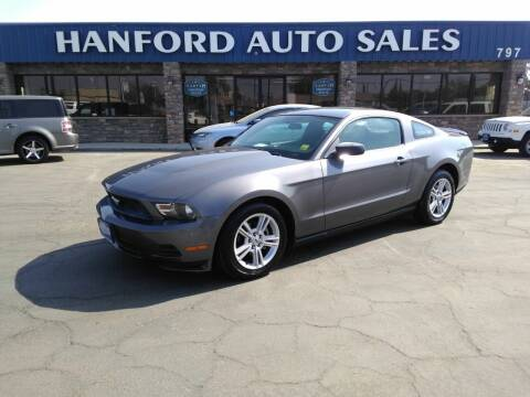 2010 Ford Mustang for sale at Hanford Auto Sales in Hanford CA