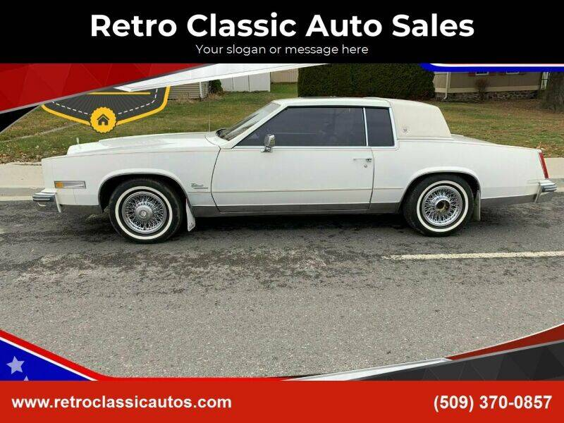 1980 Cadillac Eldorado for sale at Retro Classic Auto Sales - Classic Cars in Spangle WA