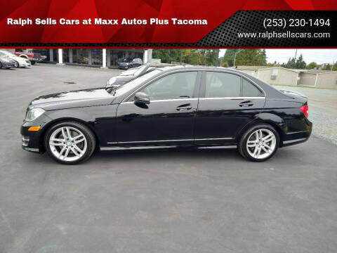 2014 Mercedes-Benz C-Class for sale at Ralph Sells Cars at Maxx Autos Plus Tacoma in Tacoma WA