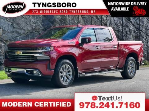 2020 Chevrolet Silverado 1500 for sale at Modern Auto Sales in Tyngsboro MA