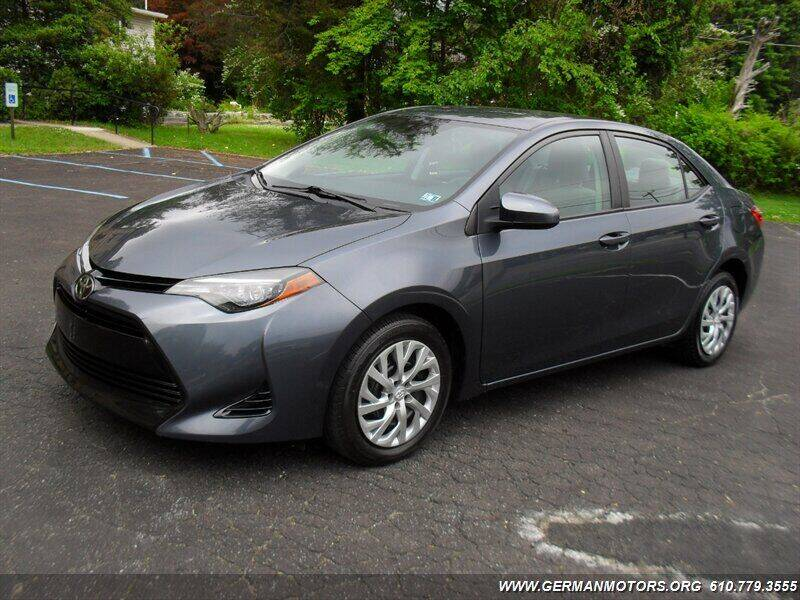 2018 Toyota Corolla for sale at Mair's Continental Motors in Reading PA