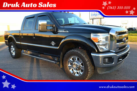 2015 Ford F-250 Super Duty for sale at Druk Auto Sales in Ramsey MN