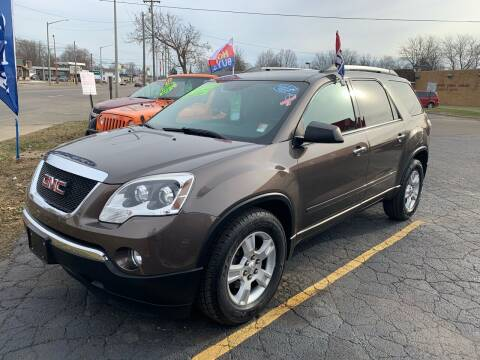 2012 GMC Acadia for sale at L&T Auto Sales in Three Rivers MI