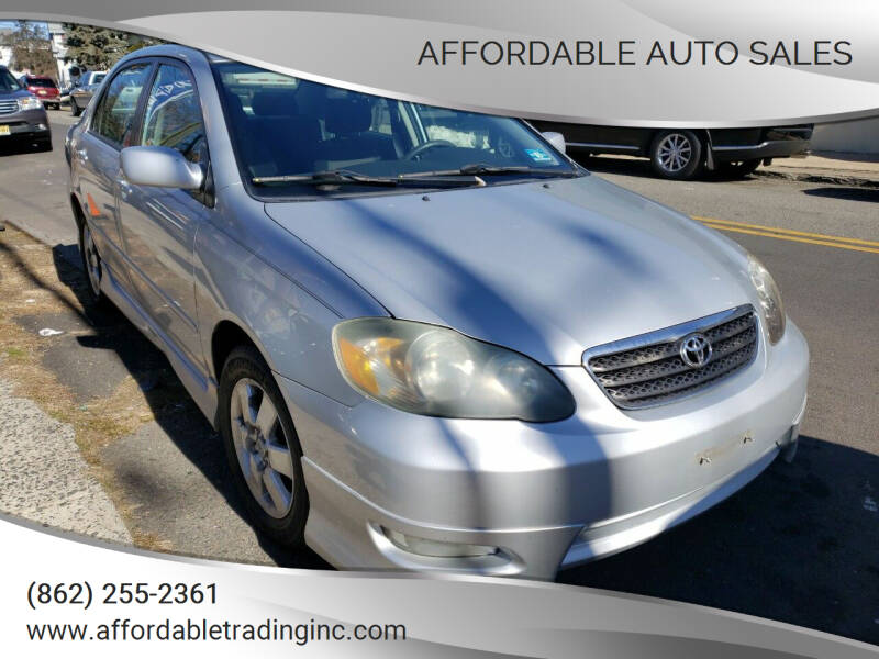 2006 Toyota Corolla for sale at Affordable Auto Sales in Irvington NJ