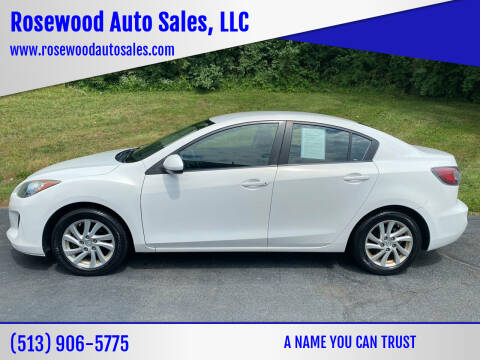 2012 Mazda MAZDA3 for sale at Rosewood Auto Sales, LLC in Hamilton OH