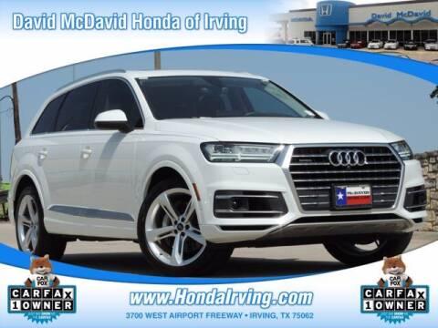 2019 Audi Q7 for sale at DAVID McDAVID HONDA OF IRVING in Irving TX