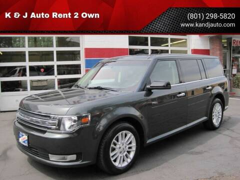 2015 Ford Flex for sale at K & J Auto Rent 2 Own in Bountiful UT