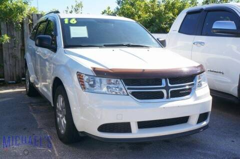 2016 Dodge Journey for sale at Michael's Auto Sales Corp in Hollywood FL