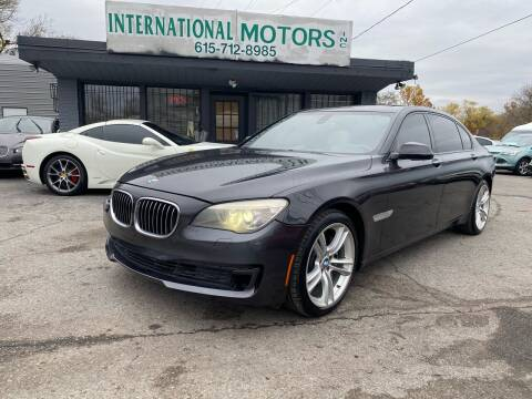 2013 BMW 7 Series for sale at International Motors Inc. in Nashville TN
