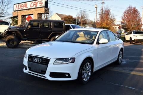 2009 Audi A4 for sale at I-DEAL CARS in Camp Hill PA