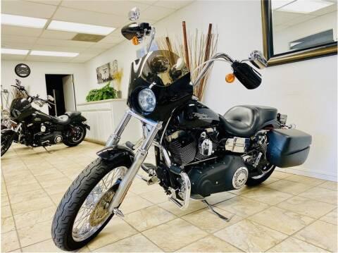 2008 Harley Davidson dyna for sale at KARS R US in Modesto CA
