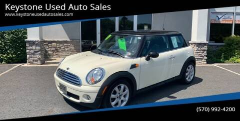 2007 MINI Cooper for sale at Keystone Used Auto Sales in Brodheadsville PA