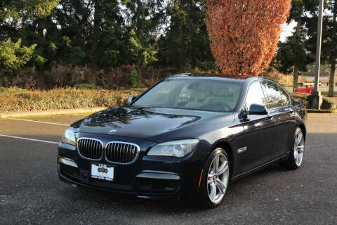 2011 BMW 7 Series for sale at Top Gear Motors in Lynnwood WA