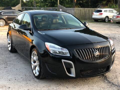 2013 Buick Regal for sale at Preferable Auto LLC in Houston TX