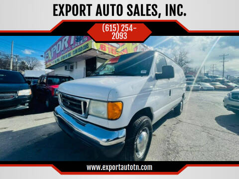 2006 Ford E-Series Cargo for sale at EXPORT AUTO SALES, INC. in Nashville TN