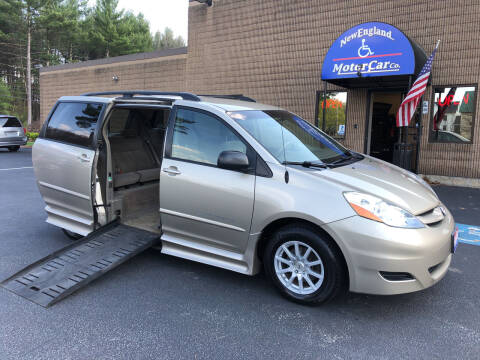 2008 Toyota Sienna for sale at New England Motor Car Company in Hudson NH