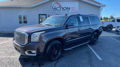 2015 GMC Yukon XL for sale at Action Motor Sales in Gaylord MI