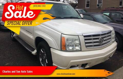 2004 Cadillac Escalade EXT for sale at Charles and Son Auto Sales in Totowa NJ