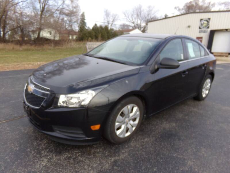 2012 Chevrolet Cruze for sale at Rose Auto Sales & Motorsports Inc in McHenry IL