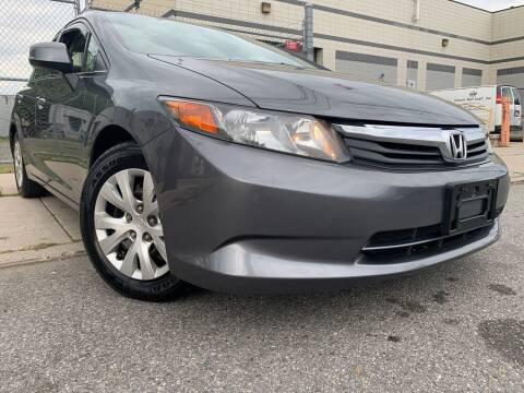 2012 Honda Civic for sale at Illinois Auto Sales in Paterson NJ