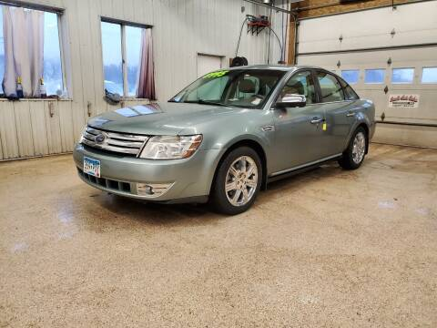 2008 Ford Taurus for sale at Sand's Auto Sales in Cambridge MN
