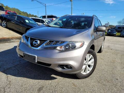 2012 Nissan Murano for sale at Philip Motors Inc in Snellville GA