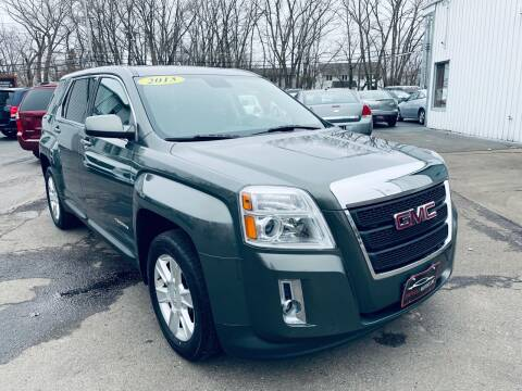2013 GMC Terrain for sale at SHEFFIELD MOTORS INC in Kenosha WI