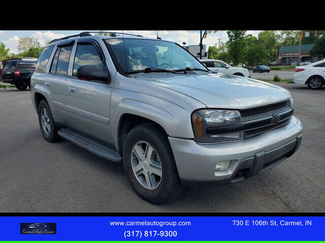 2005 Chevrolet TrailBlazer for sale at Carmel Auto Group in Indianapolis IN