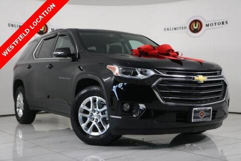 2018 Chevrolet Traverse for sale at INDY'S UNLIMITED MOTORS - UNLIMITED MOTORS in Westfield IN