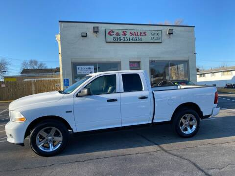 2012 RAM Ram Pickup 1500 for sale at C & S SALES in Belton MO