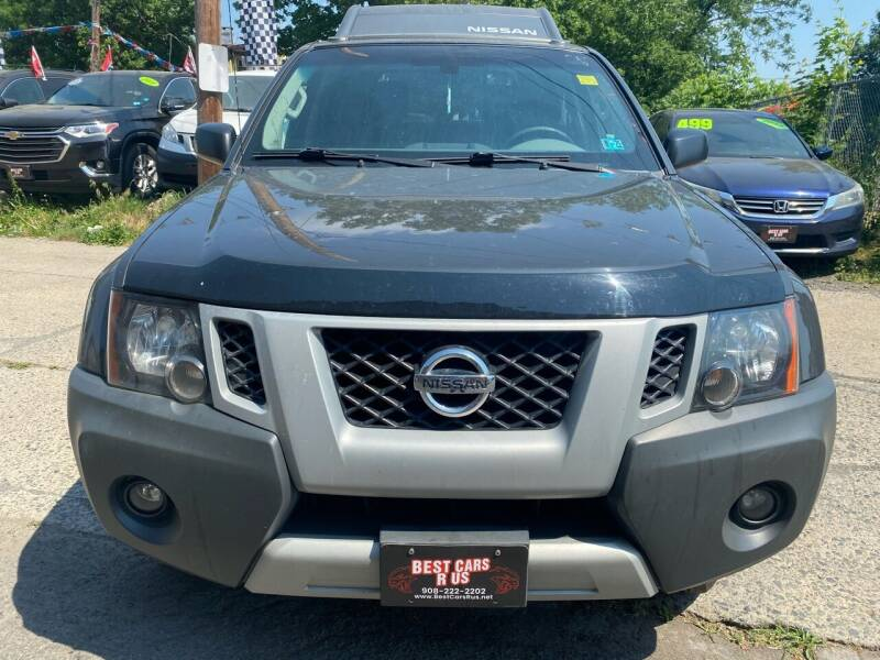 2013 Nissan Xterra for sale at Best Cars R Us in Plainfield NJ