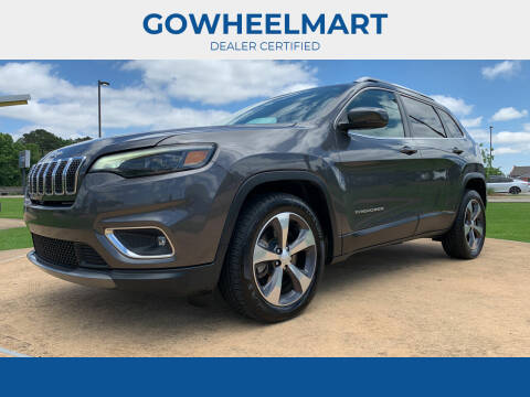 2019 Jeep Cherokee for sale at GOWHEELMART in Leesville LA