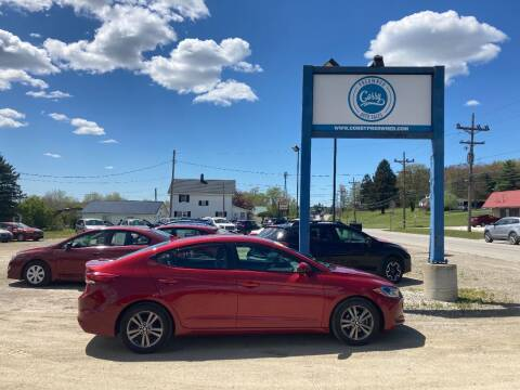 2017 Hyundai Elantra for sale at Corry Pre Owned Auto Sales in Corry PA