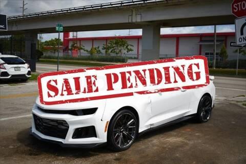 2017 Chevrolet Camaro for sale at STS Automotive - Miami, FL in Miami FL