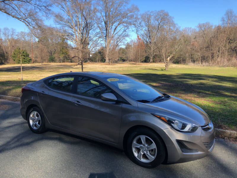 2014 Hyundai Elantra for sale at Bull City Auto Sales and Finance in Durham NC
