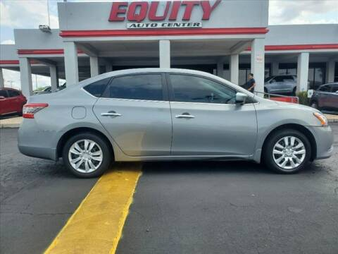 2013 Nissan Sentra for sale at EQUITY AUTO CENTER in Phoenix AZ