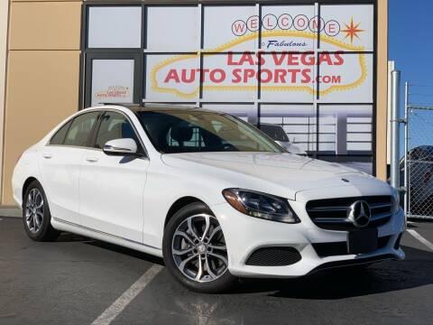2016 Mercedes-Benz C-Class for sale at Las Vegas Auto Sports in Las Vegas NV