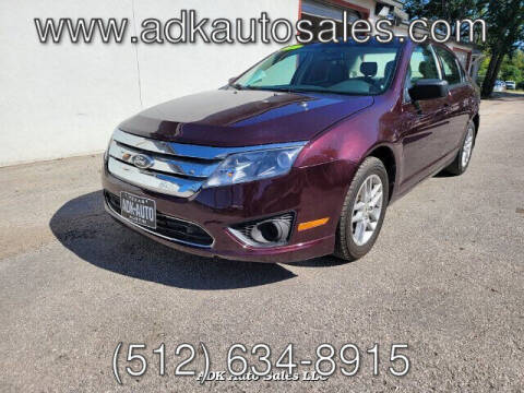 2011 Ford Fusion for sale at ADK AUTO SALES LLC in Austin TX