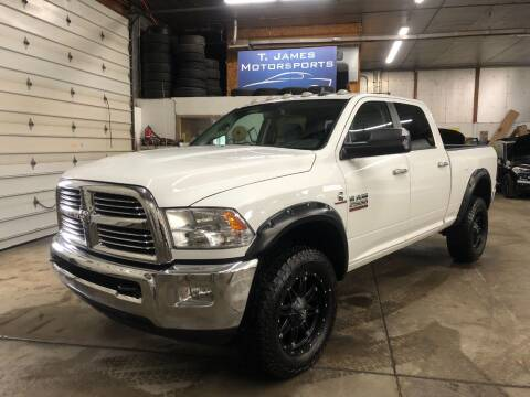 2014 RAM Ram Pickup 2500 for sale at T James Motorsports in Gibsonia PA
