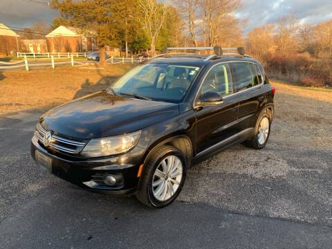 2012 Volkswagen Tiguan for sale at Lux Car Sales in South Easton MA