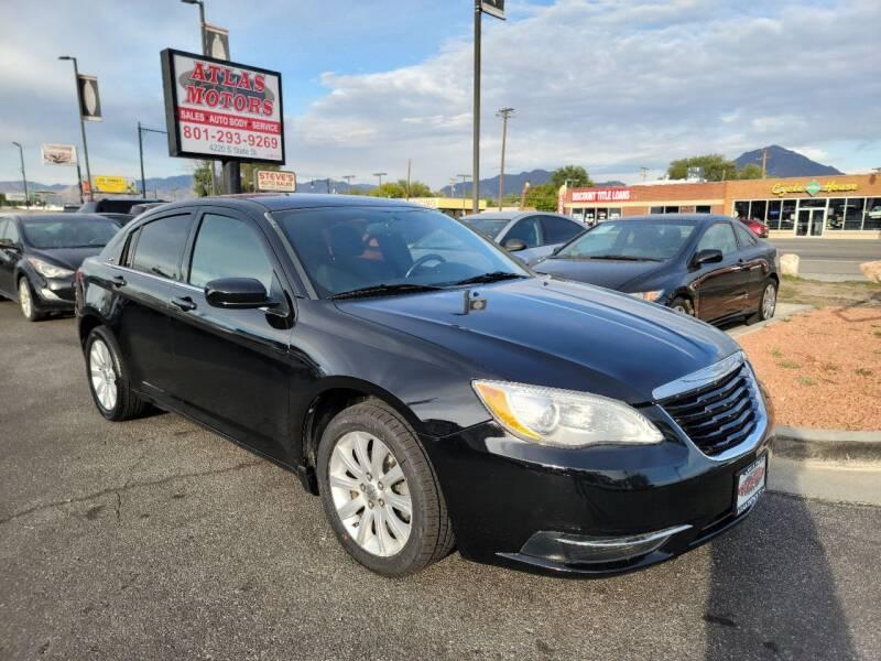 2013 Chrysler 200 for sale at ATLAS MOTORS INC in Salt Lake City UT