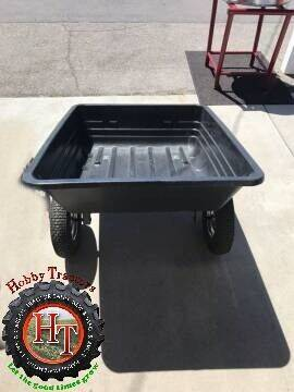 2021 BRABER 600 LB POLY DUMB CART for sale at Hobby Tractors - Implements in Pleasant Grove UT