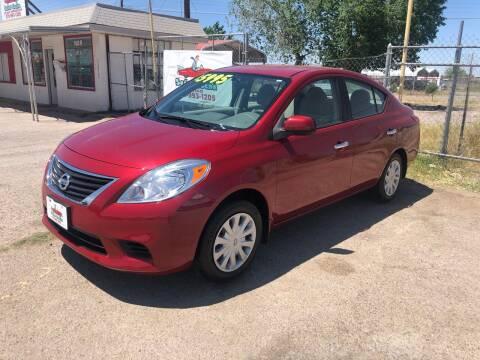 2012 Nissan Versa for sale at Senor Coche Auto Sales in Las Cruces NM