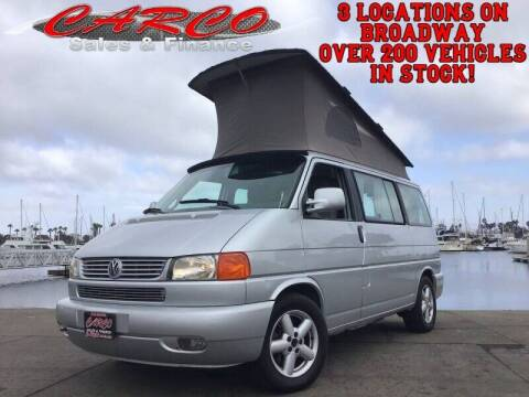 2003 Volkswagen EuroVan for sale at CARCO SALES & FINANCE #3 in Chula Vista CA