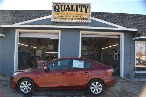 2010 Mazda MAZDA3 for sale at Quality Pre-Owned Automotive in Cuba MO