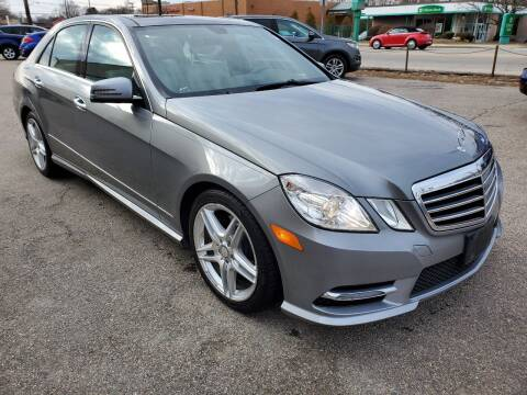 2013 Mercedes-Benz E-Class for sale at Greenville Auto Sales in Warwick RI