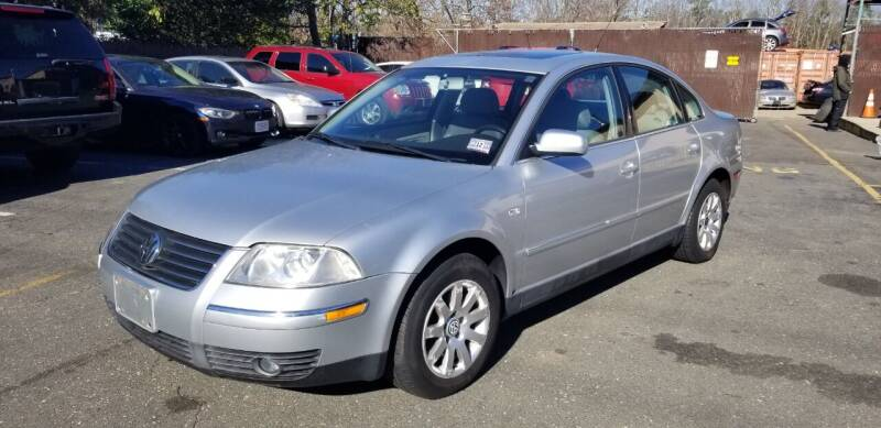 2002 Volkswagen Passat for sale at Central Jersey Auto Trading in Jackson NJ
