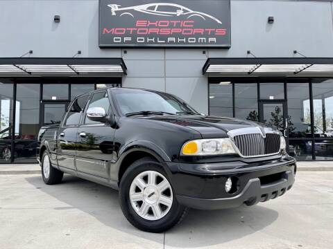 2002 Lincoln Blackwood for sale at Exotic Motorsports of Oklahoma in Edmond OK