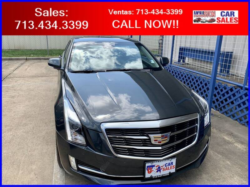 2018 Cadillac ATS for sale at HOUSTON CAR SALES INC in Houston TX