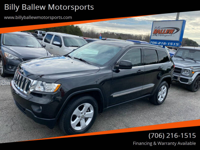 2011 Jeep Grand Cherokee for sale at Billy Ballew Motorsports in Dawsonville GA